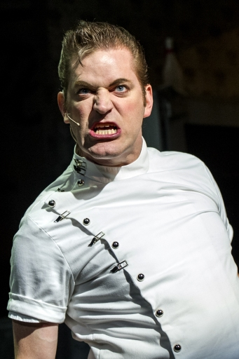 Basil Harris appears as Dr. Orin Scrivello, DDS in Tantrum Theater's LITTLE SHOP OF HORRORS (2016)